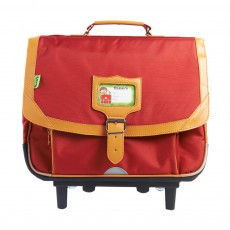 Cartable Trolley Classic Rouge