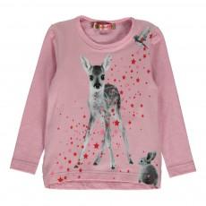 T-Shirt Bambi Lurex Lola Rose