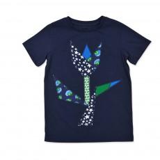 T-shirt Tulipe Arlo Bleu nuit