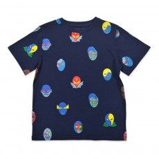 T-shirt Masques Arlo Bleu nuit