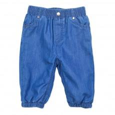 Pantalon Chambray Pipkin Bleu jean