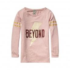 T-Shirt Eclair Beyond Rose pâle