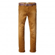 Pantalon Chino Ocre