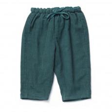 Pantalon Velours Wayland Bébé Bleu Vert