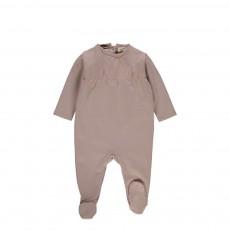 Pyjama Pieds Inkjet Beige rosé