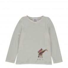 T-shirt Giraffa Ecru