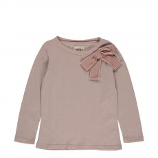 Blouse Noeud Cornelly Beige rosé
