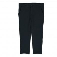 Pantalon Slim Molleton Prova Bleu marine