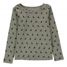 T-Shirt Oiseaux Gris