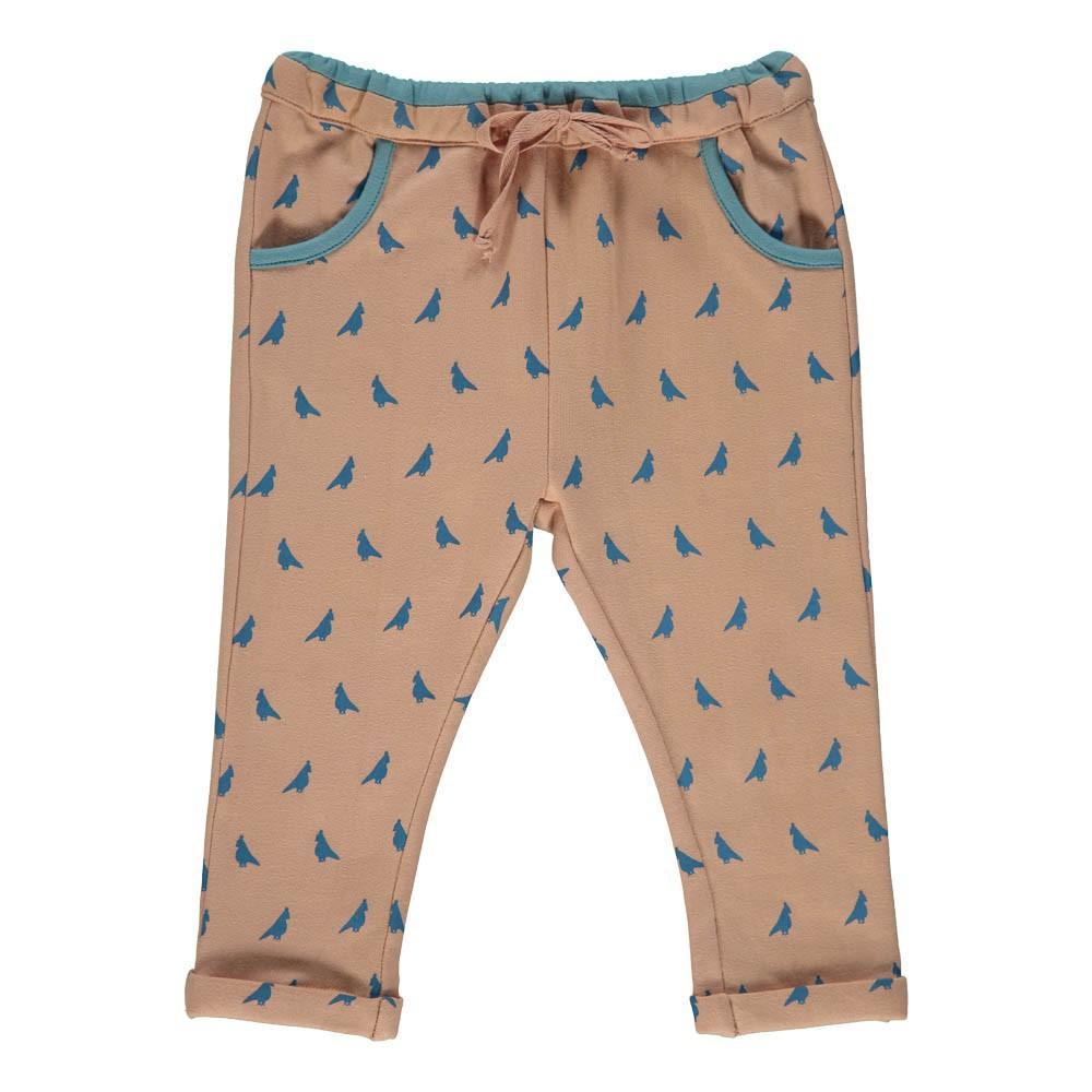 Jogger oiseaux rose le petit lucas du tertre mode enfant smallable - Le petit lucas du tertre ...