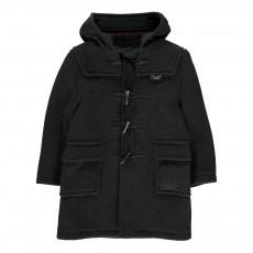 Duffle Coat Gris charbon