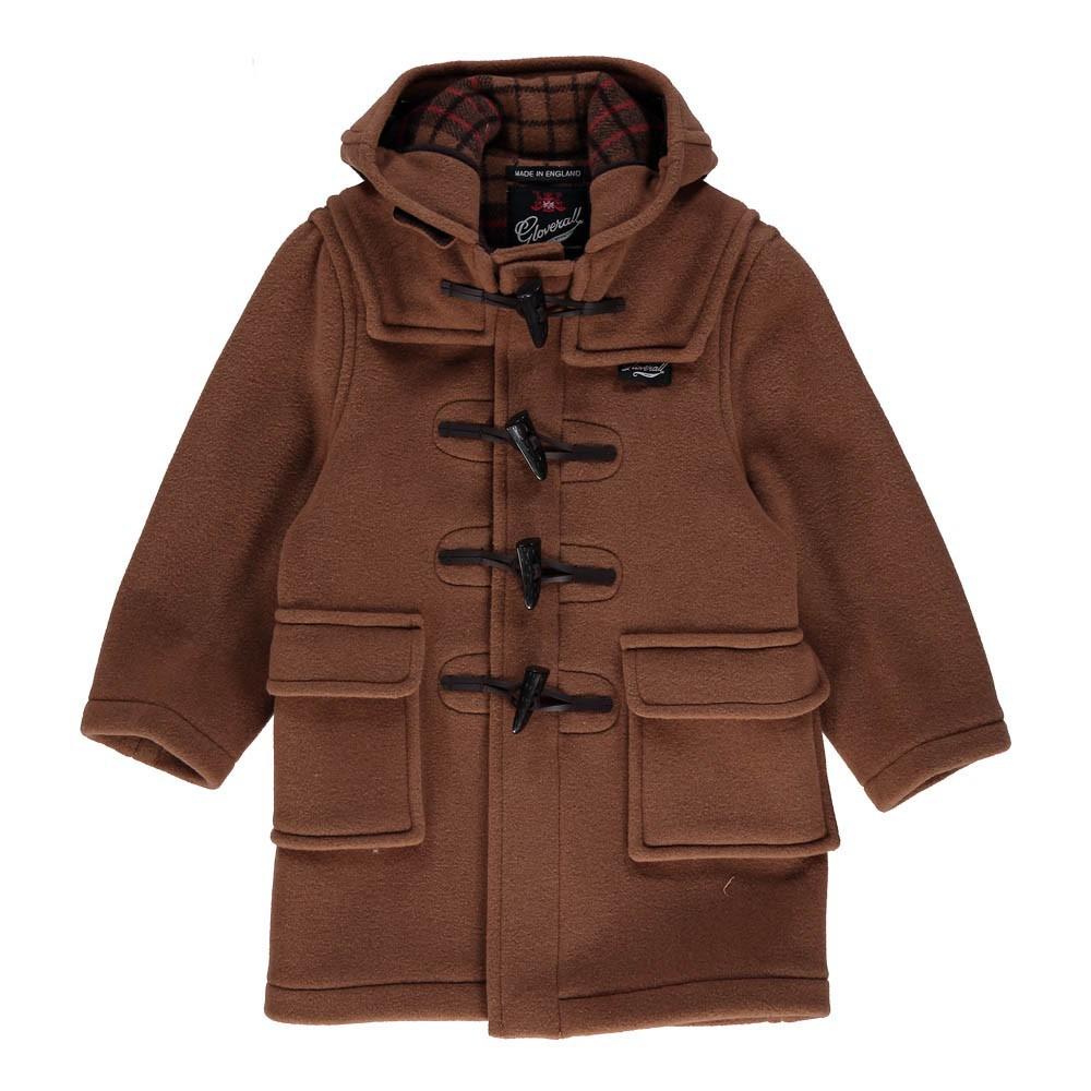 duffle coat camel gloverall mode ado gar on smallable. Black Bedroom Furniture Sets. Home Design Ideas