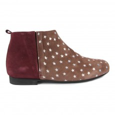 Bottines Etoiles Mathilde Bordeaux