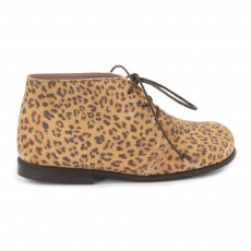 Desert Boots Cuir Jaguar Camel