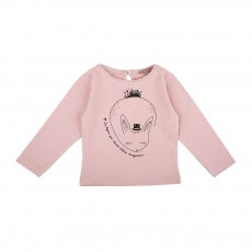 T-Shirt Lapin Rose pâle
