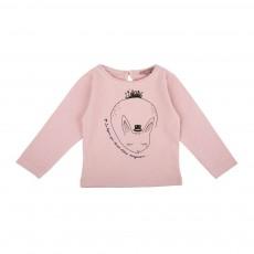 T-Shirt Lapin Rose pâle