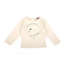 T-Shirt Chat Ecru