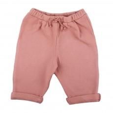Pantalon Lien Taille Vieux Rose