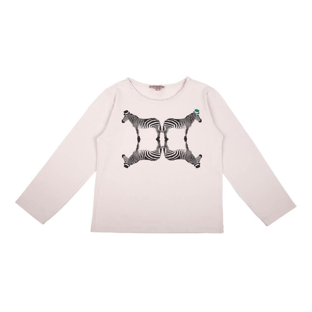 T shirt z bre miroir gris clair emile et ida mode enfant for Miroir zebre