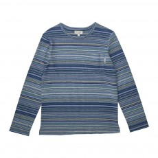 T-shirt Rayé Johanel Bleu