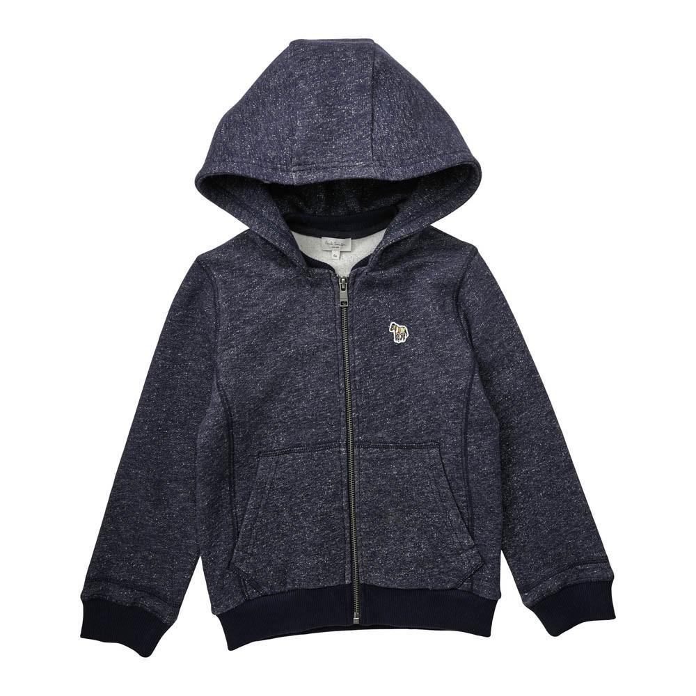 sweat zipp capuche joanny bleu chin paul smith junior mode ado gar on smallable. Black Bedroom Furniture Sets. Home Design Ideas