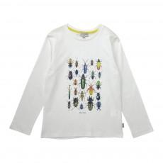 T-shirt Insectes Judex Blanc