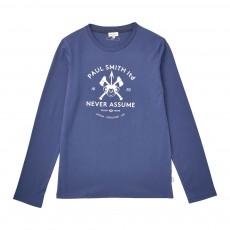 T-shirt Japan Bleu pétrole