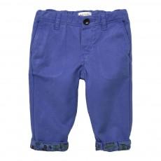 Pantalon Revers Robots Juke Bleu