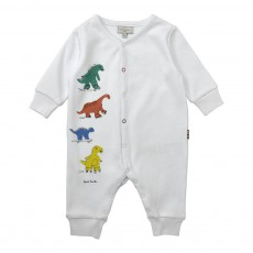 Combinaison Dinosaures Jerry Blanc