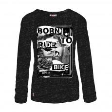 T-shirt Borntobo Gris anthracite