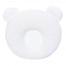 Oreiller 0-6 mois P'tit Panda 21x19 cm Blanc