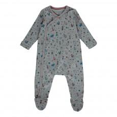 Pyjama Renard Gris chiné