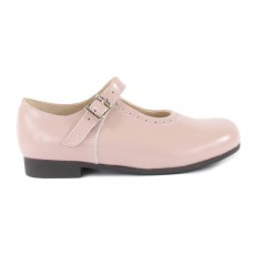 Babies Cuir Clare Rose