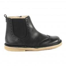 Boots Cuir  Bugsy Noir