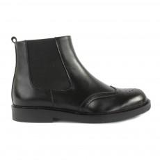 Boots Cuir Marlow Noir