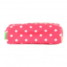 Trousse Simple Heritage Pois Corail