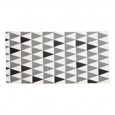 Tapis triangles Gris