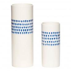 Vases gouttes - Set de 2 Bleu