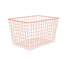 Panier rectangulaire Linea Orange