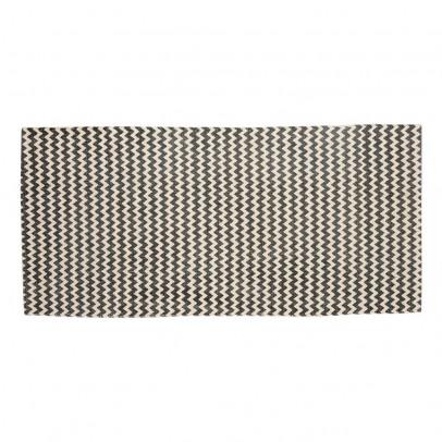 Tapis zig zag gris fonc h bsch d coration smallable - Tapis gris fonce ...