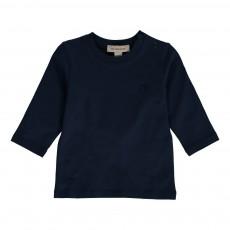 T-shirt Coudières Tartan Bébé Bleu indigo