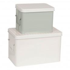 Boîtes de rangement - set de 2 Multicolore