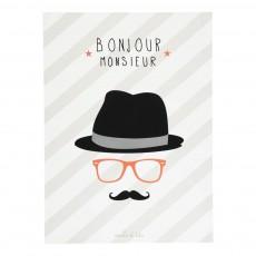 Poster Monsieur Ecru