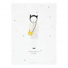 Poster Ida Pois Blanc