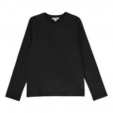 T-shirt Coudières Tartan Noir