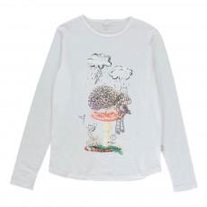 T-shirt Hérisson Barley Blanc