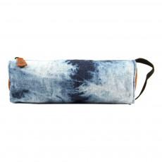 Trousse Denim Dye Bleu