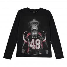 T-shirt Monkeybo Noir