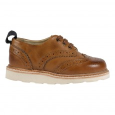 Derbies Cuir Brando Camel