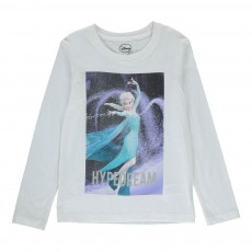 T-Shirt Reine Des Neiges Hypedream Blanc